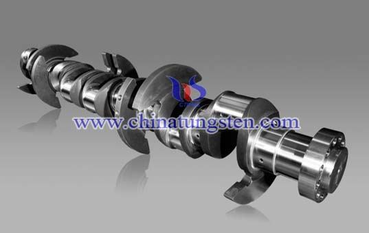 Tungsten Alloy Crankshaft Picture